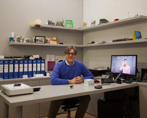 Il Dott. Daniele Caria al Centro Exaudio di Sanfruttuoso