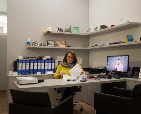 La Dott.ssa Barbara Mencaroni al Centro Exaudio di Sanfruttuoso
