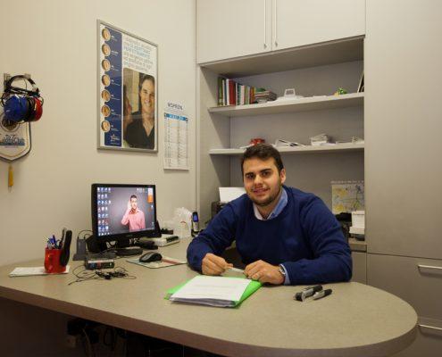 Il Dott. Leonardo De Marini al Centro Exaudio di Sanfruttuoso
